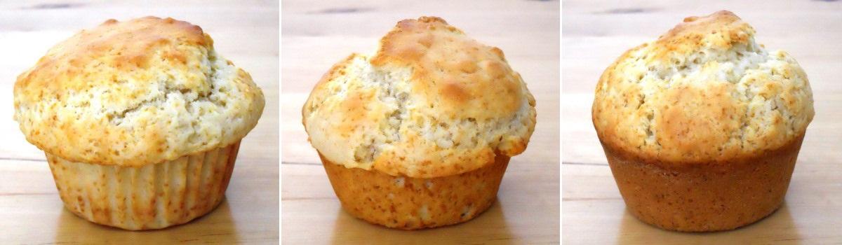 cuisson en caissette à muffin en papier, beurre, beurre/farine